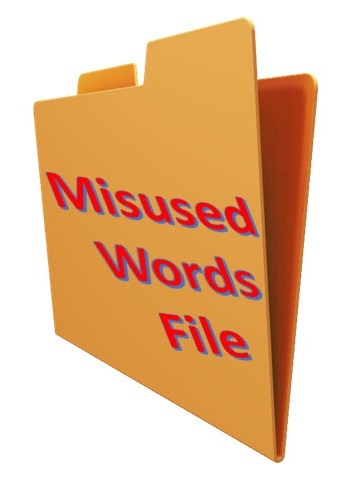 Misused Words