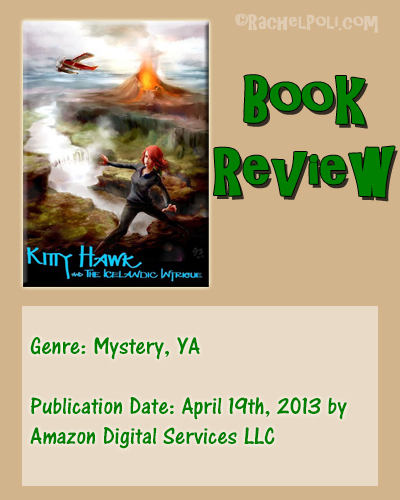 Book Review: Kitty Hawk and the Icelandic Intrigue (book 3) by Iain Reading | Mystery | Young Adult | RachelPoli.com