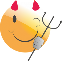 Emoticon Smiley Devil