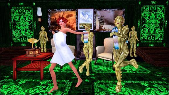 Lulu Towel run or dance botsMetropolis 5