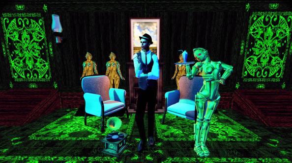 Valentino Bots Green Metropolis 6