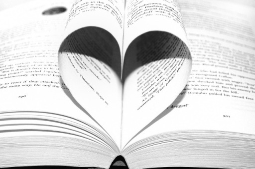 heart in a book image: Pixabay