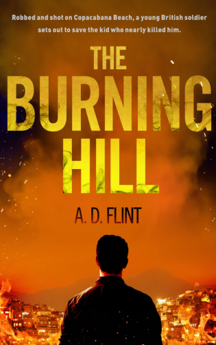 The Burning Hill Cover